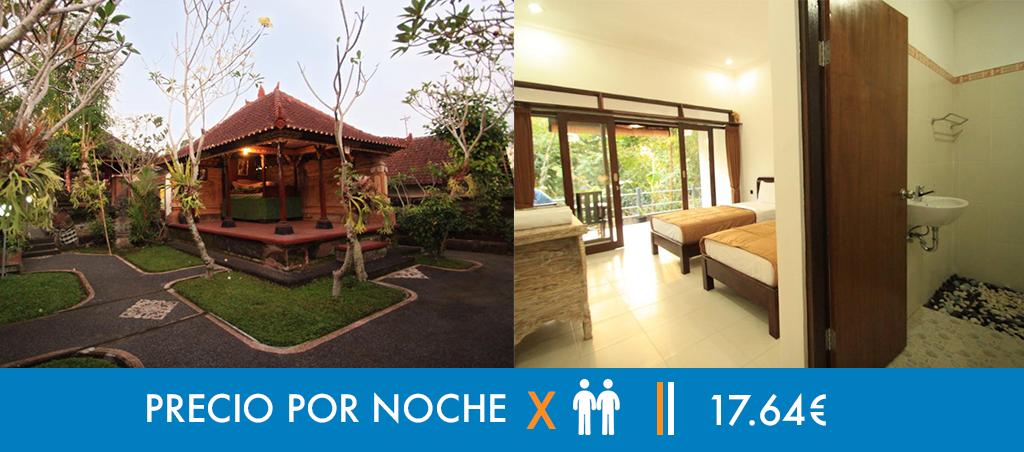 Hoteles Bali - Viaje en Mochila