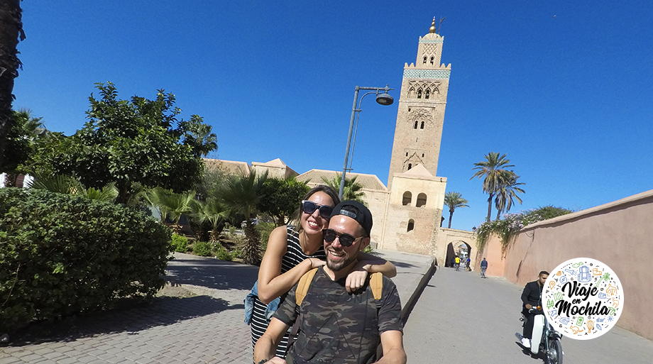 Mezquita Koutoubia-Marrakech-Marruecos-Viaje en Mochila