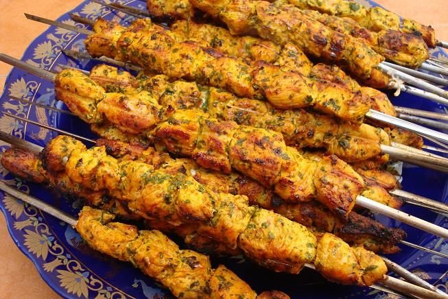Brochetas Marroquíes